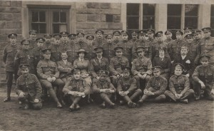 Brown Edge Soldiers who served to the end of the War